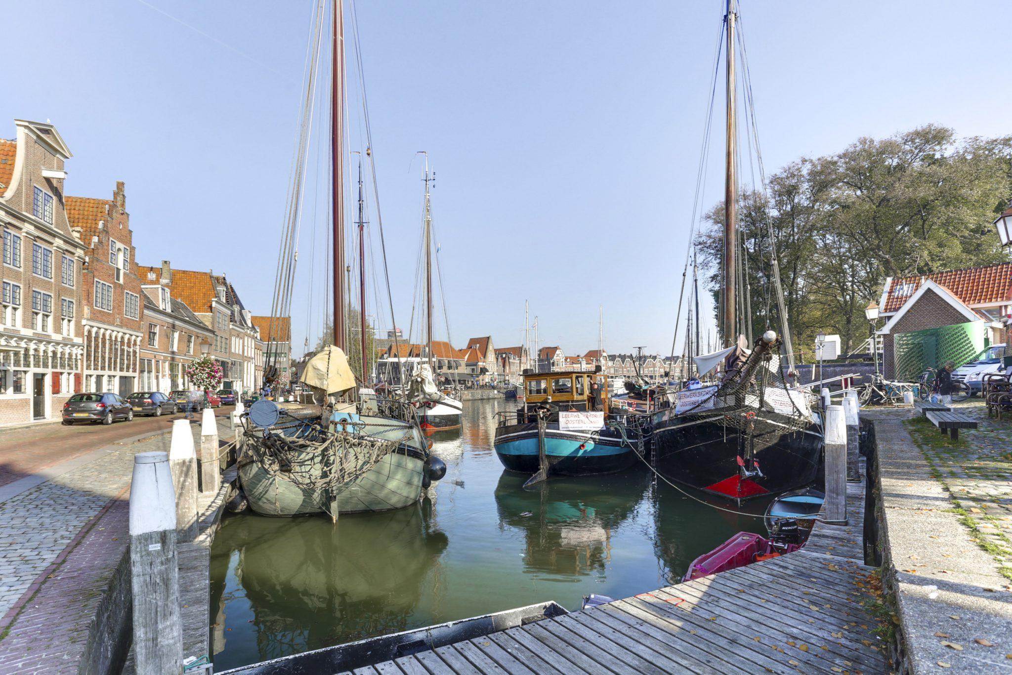 Hoorn heeft een prachtige haven